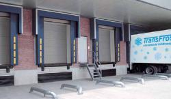 Секционные ворота DPU для холодильных камер