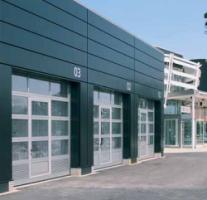 Алюминиевые секционные ворота TAR 40