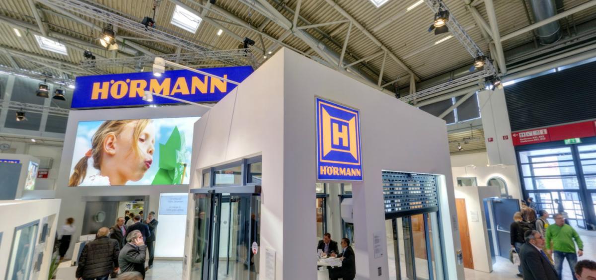 Hormann на выставке BAU 2017